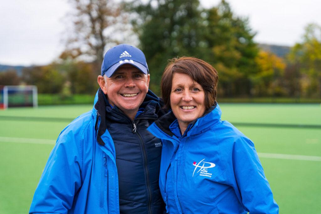 David and Pauline Stott at Hockey Performance Consultancy Scotland